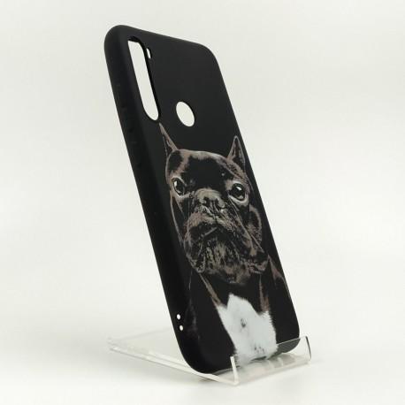 NEW LUXO Stylish Bulldog Xiaomi Redmi Note8 Black