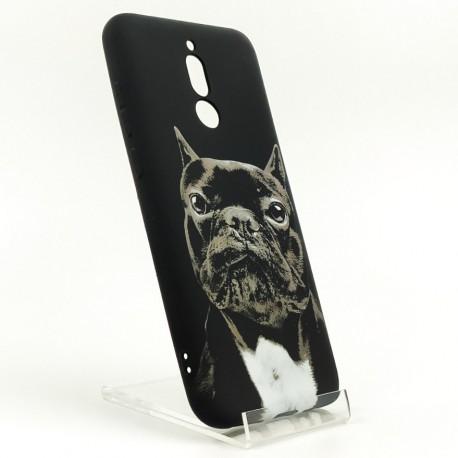 NEW LUXO Stylish Bulldog Xiaomi Redmi8 Black