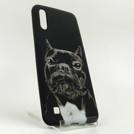 NEW LUXO Stylish Bulldog Samsung M10 Black