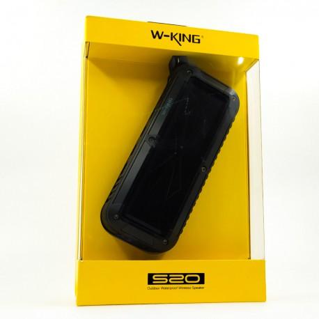 Портативная влагозащищённая и ударопрочная Bluetooth колонка W-king S20