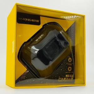 Портативная влагозащищённая и ударопрочная Bluetooth колонка с подсветкой W-king S8