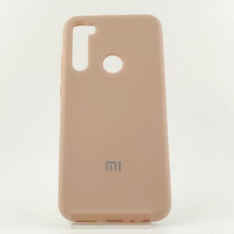 NEW Silicone case Xiaomi Redmi note8t Matte Pink