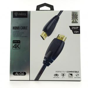 Силиконовый 1,5м HDMI кабель с поддержкой 4К Inkax AL-04