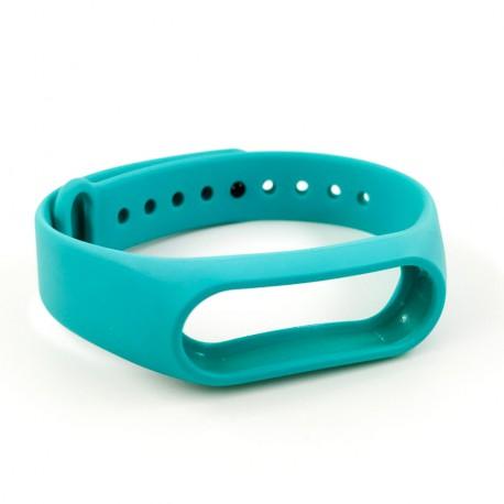 Силиконовый ремешок браслет для Mi Band 2 Green
