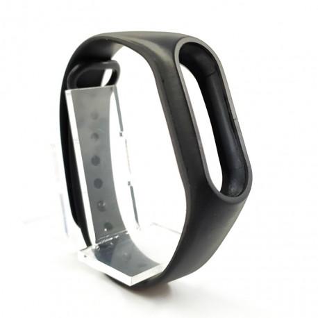 Силиконовый ремешок браслет для Mi Band 2 Black