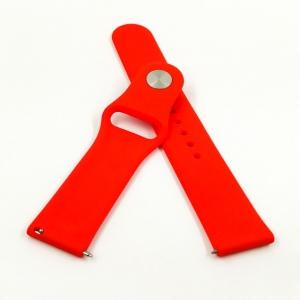 NEW Ремешок 20mm Amazfit/Philips Q1/G4/X16/Smart Mi A6 Red