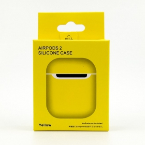 (отч) REMAX ULTRA THIN Jacket для наушн. Apple AirPods Yellow