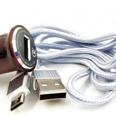 СЗУ LDNIO Fast Charge Qualc 2в1 (V8) (C304Q)