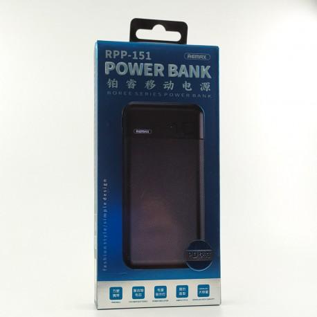 NEW Power Bank 10000mAh QC3.0/PD RPP-151 Black