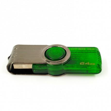 USB флеш накопитель Kingston DataTraveler 100 G3 64 Гб