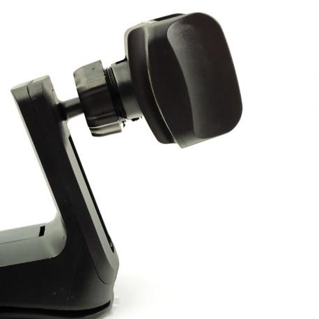 Автомобильный держатель с присоской и клеющей основой на стекло/торпеду