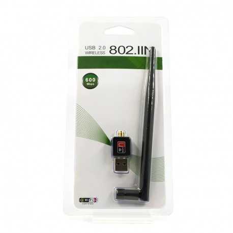 Сетевой USB Wi-Fi адаптер для компьютера 300Mb/s
