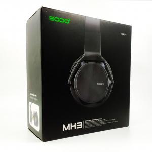 NEW Наушники накладные SODO 2in1 (Speaker+NFC) MH3