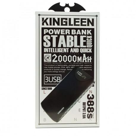 Power Bank KINGLEEN 388S 20000mAh 3USB Output 3A