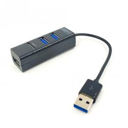 Концентратор USB хаб 3 USB + TF-карта COMBO