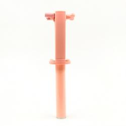 Компактная проводная металическая селфи палка V9 Mini Pink