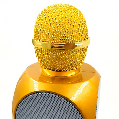 Bluetooth microphone-Karaoke + LED music Яркий