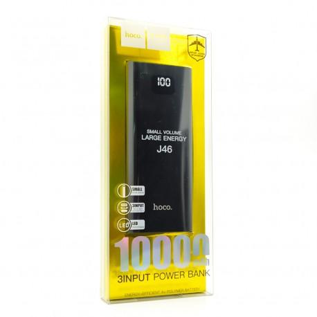 Портативное зарядное устройство с дисплеем Power Bank Hoco J46 10000mAh