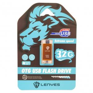 USB флеш OTG micro Lenyes 32Gb