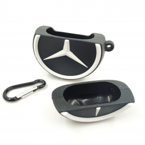 Чех для AirPods Rubber Mercedes