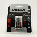 Аккумуляторы никель-металлогидридные АА Videx 1500mAh
