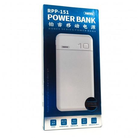 NEW Power Bank 10000mAh QC3.0/PD RPP-151 White