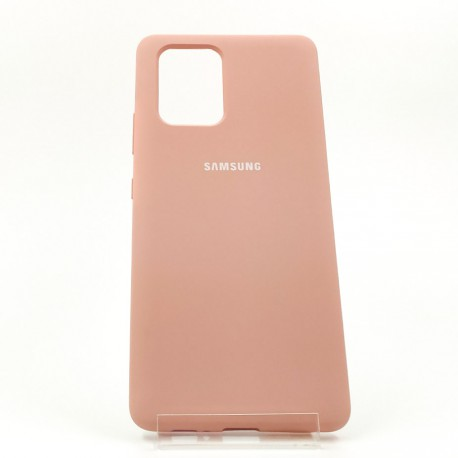 NEW SILICONE CASE Samsung A31 Matte Pink