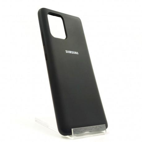 New SILICONE CASE Samsung A31 Black