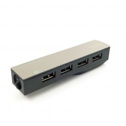 Компактный USB хаб на 4 порта