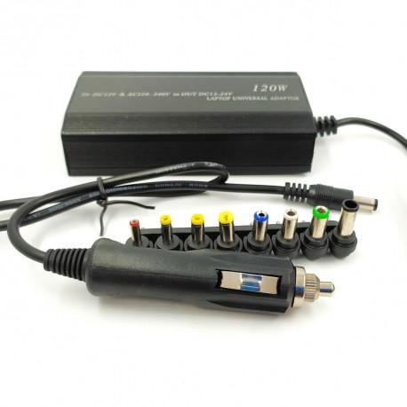 Универсальное автомобильное зарядное устройство для ноутбука 901