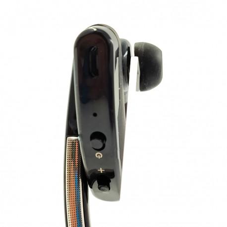 Вакуумная моно Bluetooth гарнитура с шумоподавлением Hoco E15