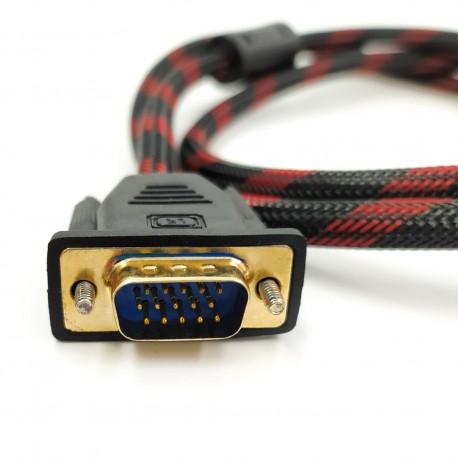 Прочный кабель DVI - VGA 1,5м