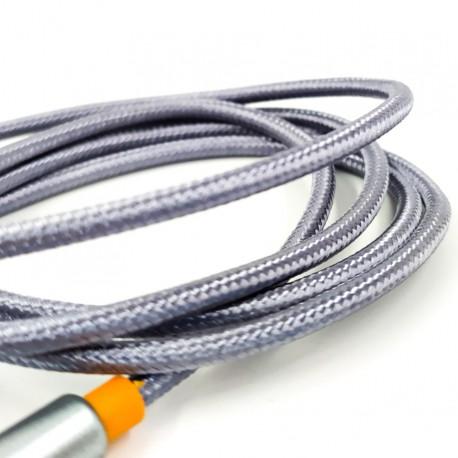 Тканевый аудио AUX кабель 3.5мм