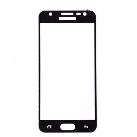 Защитное стекло 2D Glass Rock Front Samsung Galaxy J5 Prime Black (Черный) Перед