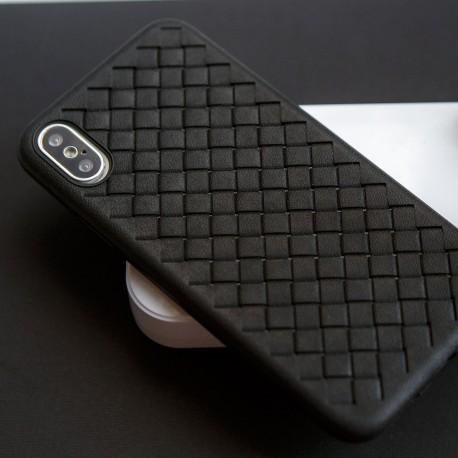 Wicker Case Iphone XS MAX black