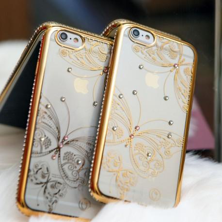Чехол Kings Bar Butterfly iPhone 6G/6S Gold (Золотой)