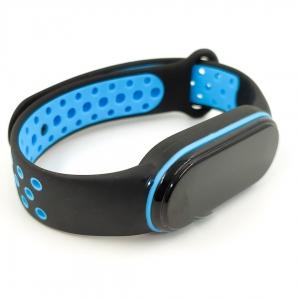 NEW Браслет для MiBand 5 Black-Blue