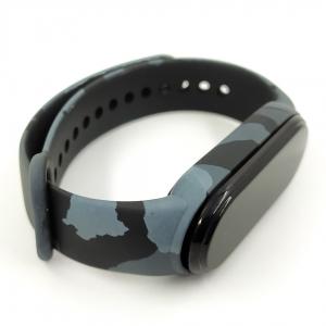 NEW Браслет для MiBand 3/4 Camouflage gray