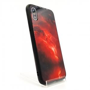 Яркий чехол-накладка чехол Molan Red space Iphone XS