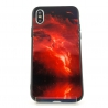 NEW Molan red space glass case Iphone XS