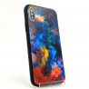 NEW Molan riot of colors glass case Iphone XS