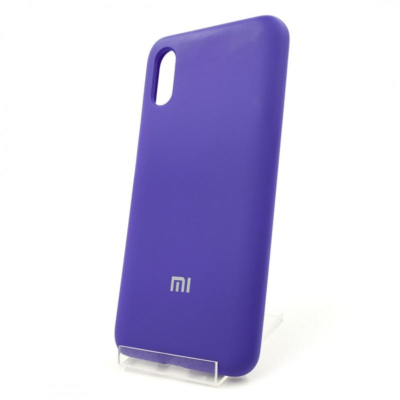 NEW Silicone case Xiaomi Redmi9a Purple