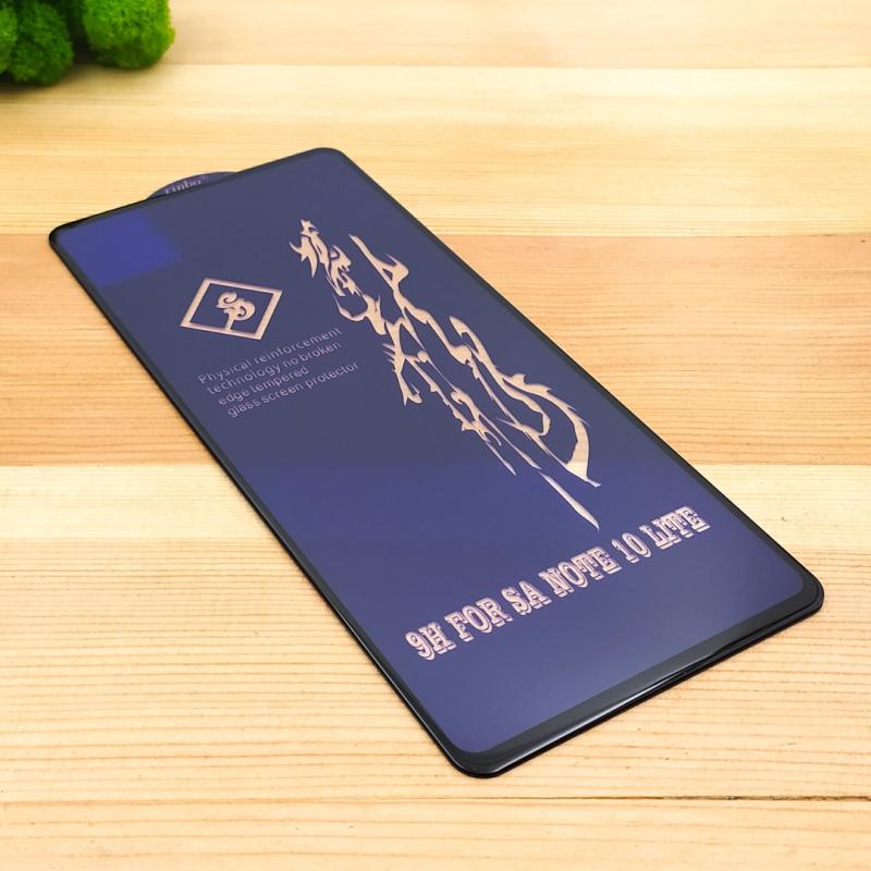 NEW 3DGLASS HOCO SAM Note10 lite BLACK