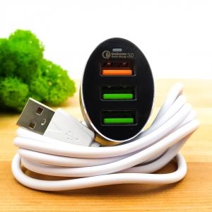 АЗУ 3в1 LDNIO quick charge 3.0 (c703q)