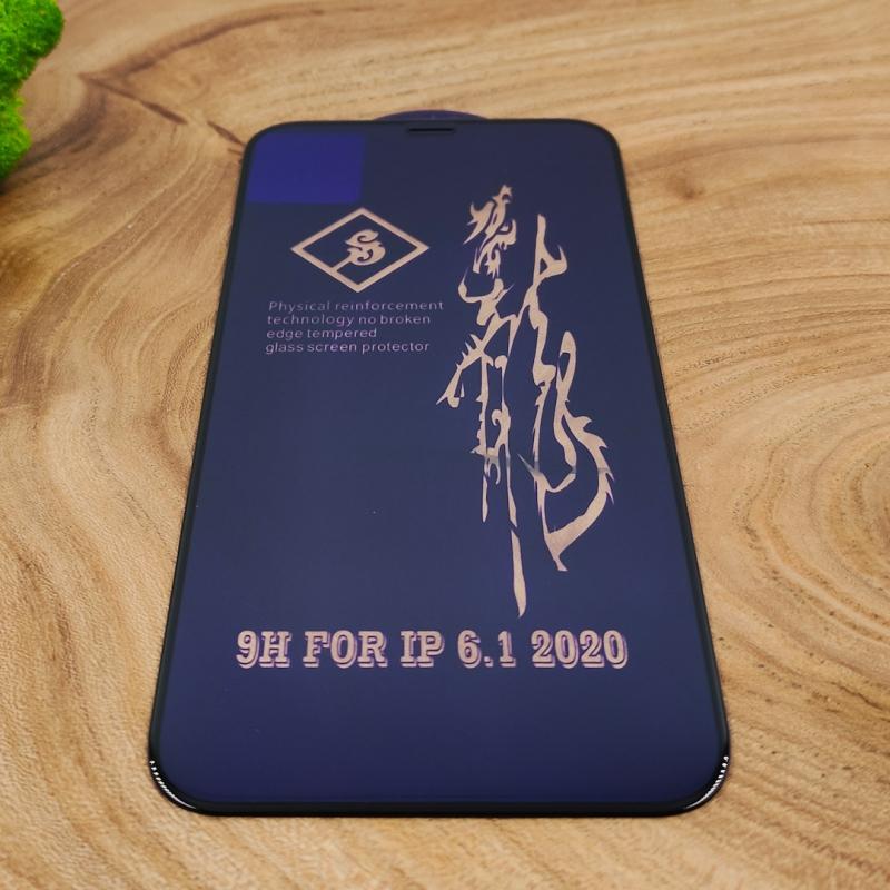 NEW 3DGLASS HOCO Rinbo IPHONE 12 (6.1) BLACK