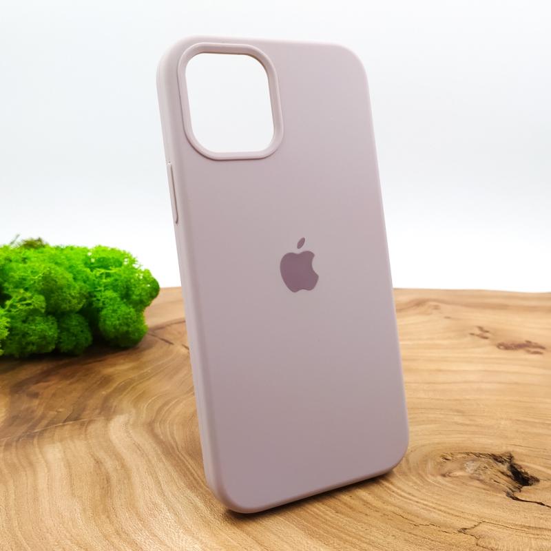 NEW SILICONE CASE IPHONE 12(6.7) Soft Purple
