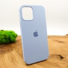 NEW SILICONE CASE IPHONE 12(5.4) Blue Agate