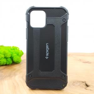 Противоударный чехол-накладка SPIGEN Iphone 12 (6.1)