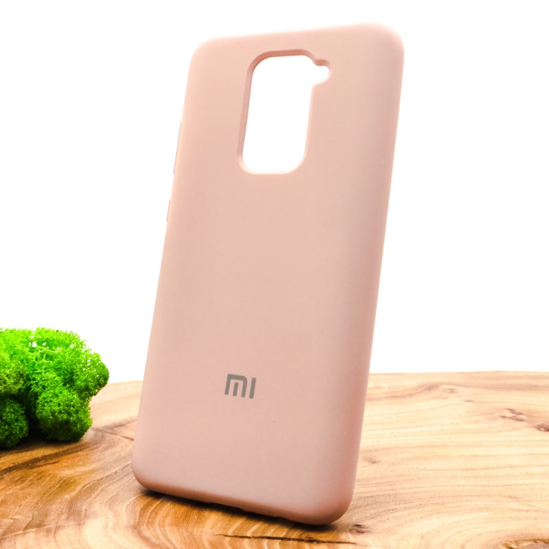 NEW Silicone case Xiaomi Redmi Note9 Matte Pink