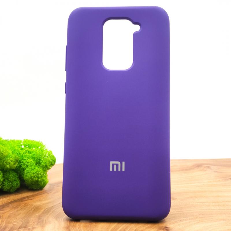 NEW Silicone case Xiaomi Redmi Note9 Purple